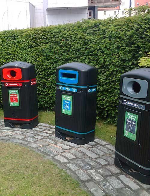 Уличные мусорные раздельные урны Jubilee