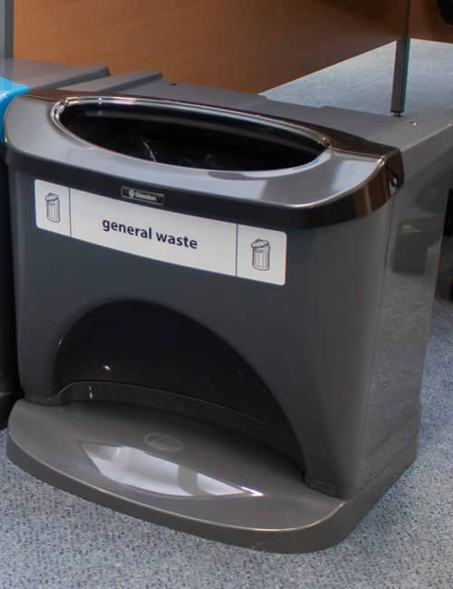 Уорна кабинетная для сбора отходов NEXUS STACK GLASDON