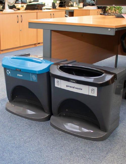 Урны для бумаги и общего мусора NEXUS STACK