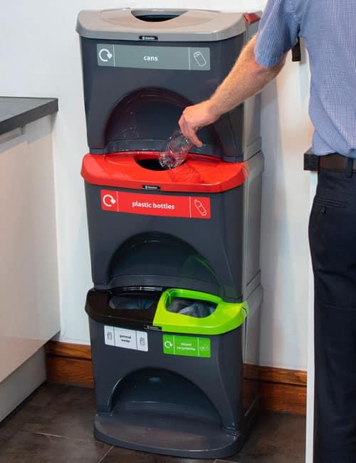 Урны для пластика бумаги и отходов NEXUS Stack
