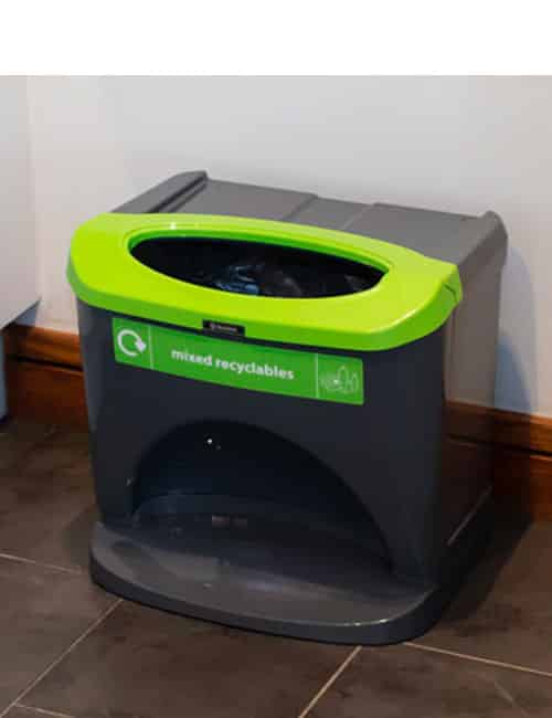 Разноцветные мусорные урны для отходов NEXUS Stack