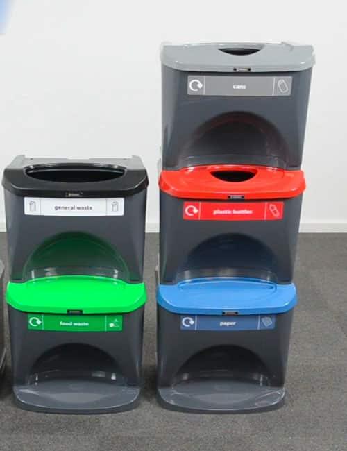 Внутренние урны для сортировки мусора GLASDON