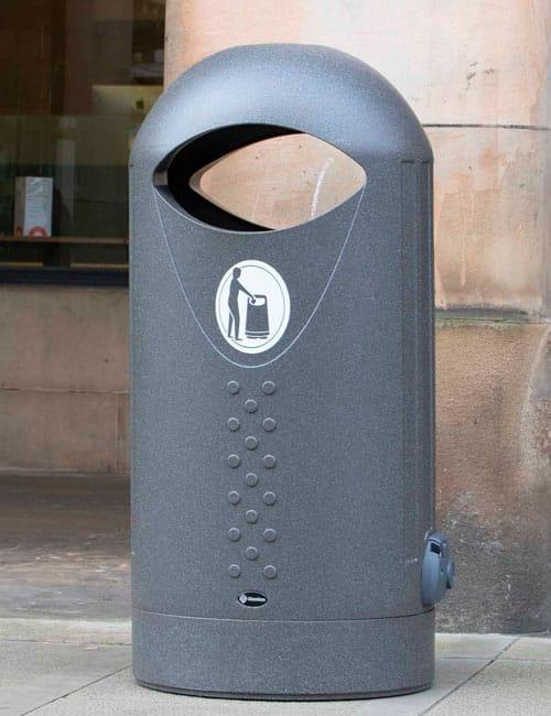 Уличная мусорка ELIPSA с баком